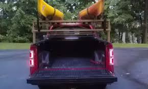 diy kayak rack for pickup