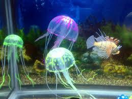 artificial jellyfish fish tank aquarium decoration ornament