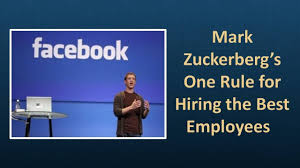 mark zuckerberg u0027s one rule for hiring the best employees youtube