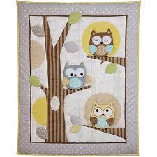 Boy Owl Crib Bedding Sets Child Of Mine By Carter U0027s Treetop Friends 3 Piece Crib Bedding Set