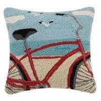coastal inspired nautical hooked pillows wool hook pillow