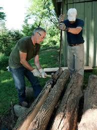 Rustic Log Benches - steel fire pit logs u2013 jackiewalker me