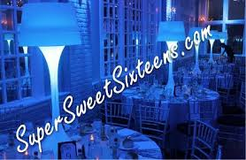 centerpiece rentals nj feather centerpieces island sweet 16 party centerpiece rentals