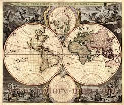 Vintage Map World Map