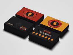 Business Card Design Inspiration Fire Stone Pizza Business Card Business Cards The Design