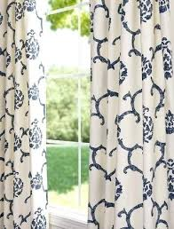 White And Navy Curtains Navy Blue And White Curtains Teawing Co