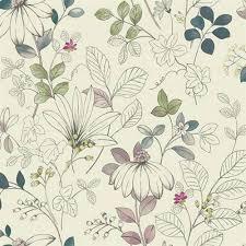 silver leaf wallpaper bellacor