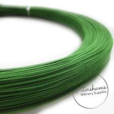 millinery wire 0 4mm 46 cotton covered millinery wire for hat