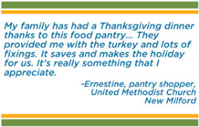 thanksgiving for all connecticut food bank