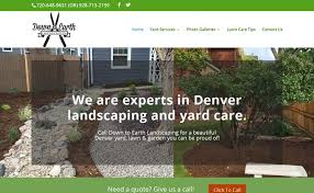 Down To Earth Landscaping by Fresh Web Design Created By Bend Oregon Web Agency U0026 Designer