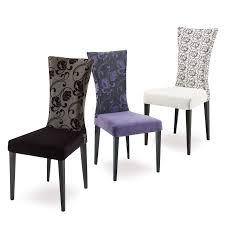 chaises de salle à manger design idée chaises de salle a manger tissu décoration