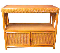 liberty rattan stained dining suite from summit design stained