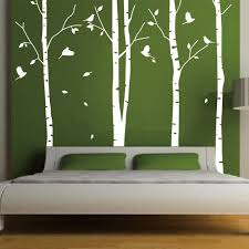 Funky Living Room Wallpaper - aliexpress com buy huge white tree wall sticker decor living