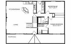 Small Cabin Building Plans 44 By 24 House Plans Ranch House Plans From The House Designers