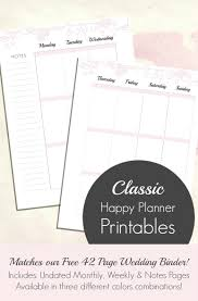 free wedding planner binder the undated planner to match your free wedding planner
