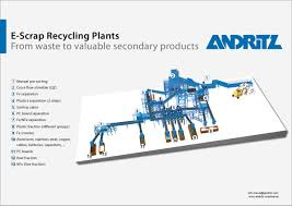recycling plants for electrical and electronic scrap