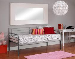 dorel home furnishings silver metal daybed home furniture