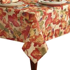 harvest festival tablecloth multi 60 x 144 oblong from bed bath