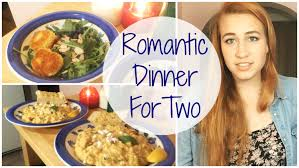 romantic dinner for two risotto and fried goat cheese salad