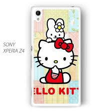 kitty small rabbit ar sony xperia z1 z2 z3 phonecase