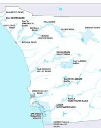 San Diego County Map Groundwater