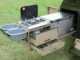 off road trailer choosing the best kitchen for lightweight off