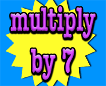 Counting By 7s Song Multiplication Song 7 Times Tables