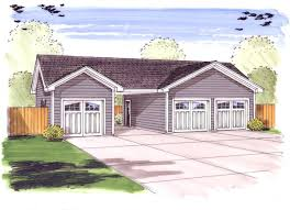 3 car garage plus carport 62479dj architectural designs