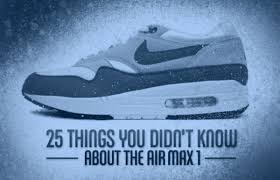 Next Thing You Know She Hit The Floor 25 Things You Didn U0027t Know About The Air Max 1 Complex