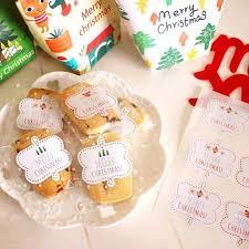 fa軋de cuisine 3張共27枚 小清新聖誕節三色封口貼紙裝飾禮品包裝曲奇餅乾手工皂交換禮物