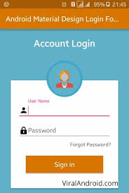 tutorial android xml android material design login form xml ui design viral android