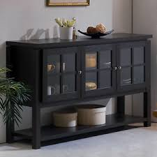kitchen server furniture buffet table cabinet sideboard hutch dining kitchen server