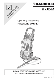 karcher pressure washer wiring diagram karcher pressure washer