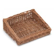 countertop wicker display basket stand prestige wicker