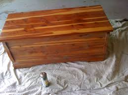Storage Chest Bench Adventures In Domesticity Cedar Chest To Cushioned Storage Bench