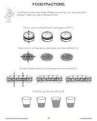food fractions u2013 free u0026 printable math worksheets for kids u2013 math