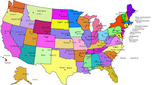 map of united states with states and cities labeled map of us states and cities my united states map map usa