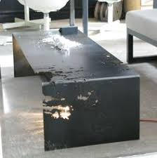 sheet metal coffee table thedesignwalker coffee tables outdoor furniture furniture