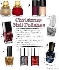 christmas 2012 nail polishes beautylovin