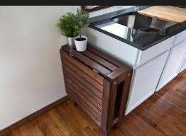 Folding Table With Chairs Stored Inside 200 Sq Ft Modern Tiny House Folding Chairs Tiny Houses And House
