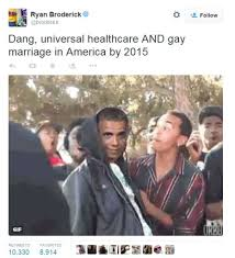 Gay Sex Memes - social media memes voice opinions on historic same sex marriage