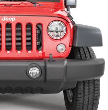 jeep lights on top quadratec led fog lights kit for 07 18 jeep wrangler jk quadratec