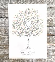 wedding tree unity tree wedding fingerprint guest book alternative guest