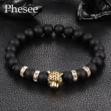 crystal gold bracelet images 2016 antique crystal gold and silver plated buddha leopard head jpg