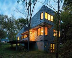 nature preserve house john mcleod architect archdaily