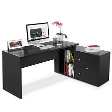 Desk L Modern Latitude Run Mat Modern Stylish L Shape Executive Desk Reviews