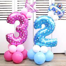 Decoration De Ballon Pour Mariage Achetez En Gros 1 Ballon D U0026 39 Anniversaire En Ligne à Des