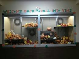 thanksgiving school display fall or back to school display