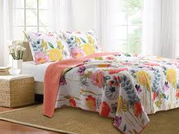 Modern Bedding Sets Watercolor Dream Quilt Set 3 Piece King Gl 1408amsk Transitional