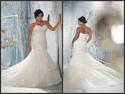 plus size wedding dresses mermaid style dress images